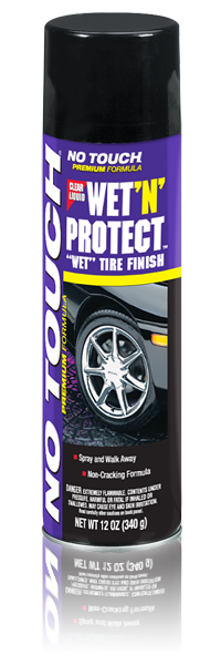 No Touch - Wet 'N' Protect™ Tire Finish